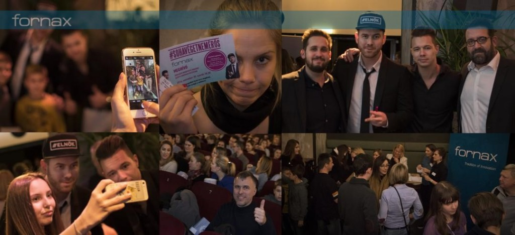 Fornax's exclusive pre-premier screening of the movie #SOHAVÉGETNEMÉRŐS