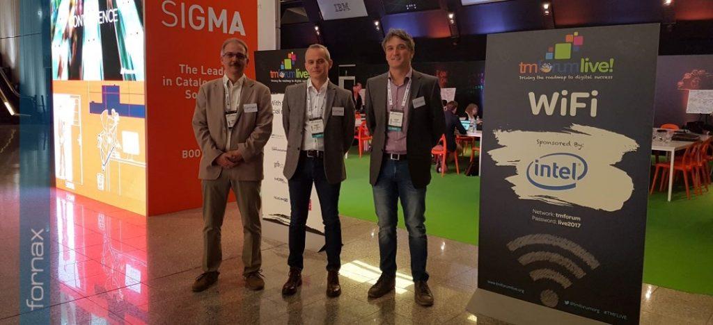 TM Forum 2017 – A FORNAX is ellátogatott Nizzába