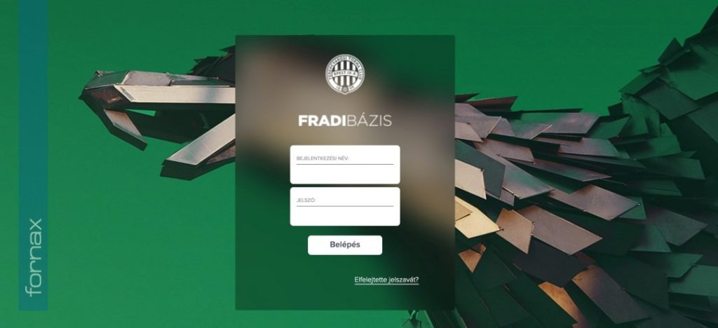 Fornax Development - FradiBázis Management Support System for FTC