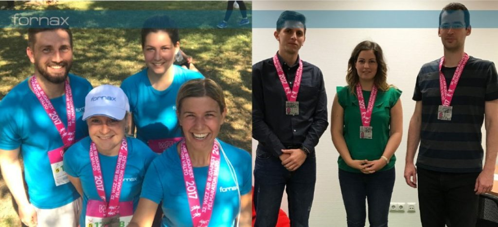 Our zealous Fornax runners ran the Wizz Air Budapest Half-marathon for the first time