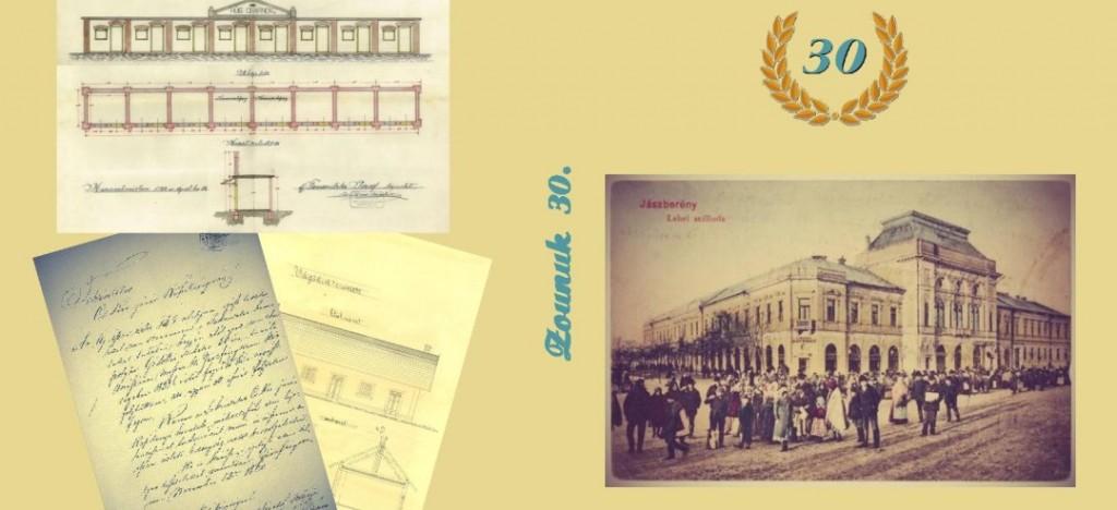 ZOUNUK 30. – a Szolnoki Levéltár jubileumi kiadványának támogatása