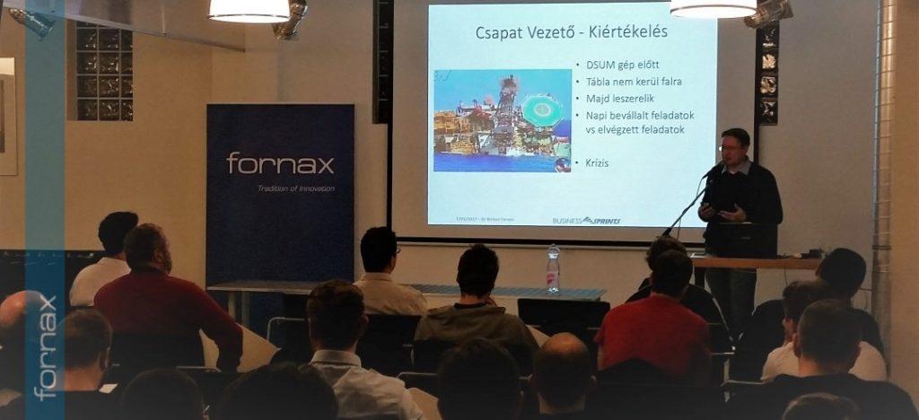 Agilis módszertan – Meetup a Fornax ICT és a DPC rendezésében