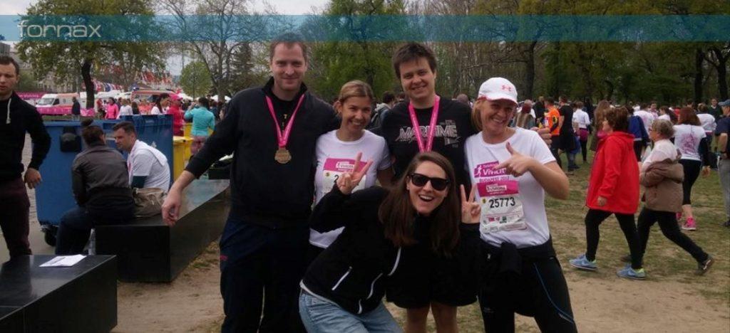 Fornaxos futók a 32. Telekom Vivicittá Városvédő Futás és Félmaraton versenyen