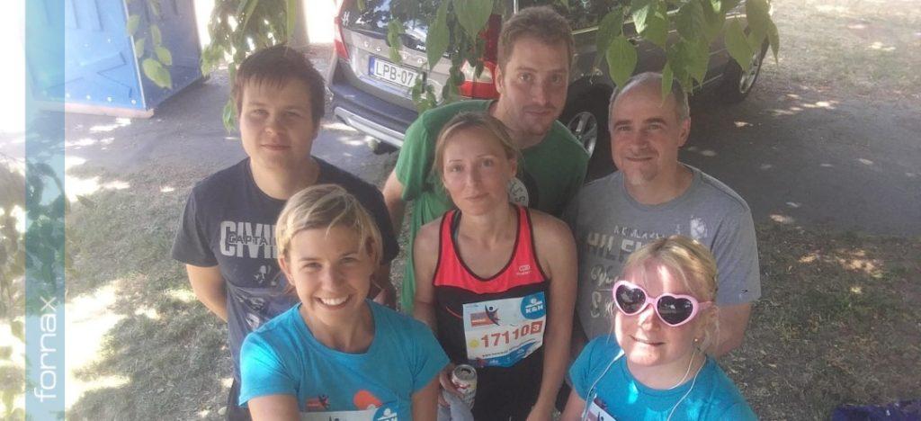 A Fornax futócsapata a 24. K&H Mozdulj! maraton –és félmaraton váltóversenyen