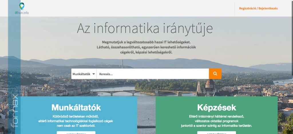 A Fornax az IThon.info oldalán - Az informatika iránytűje